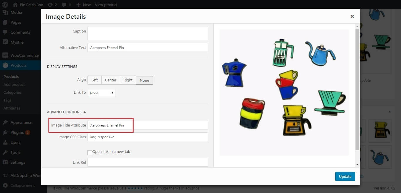 image optimization for e-commerce seo